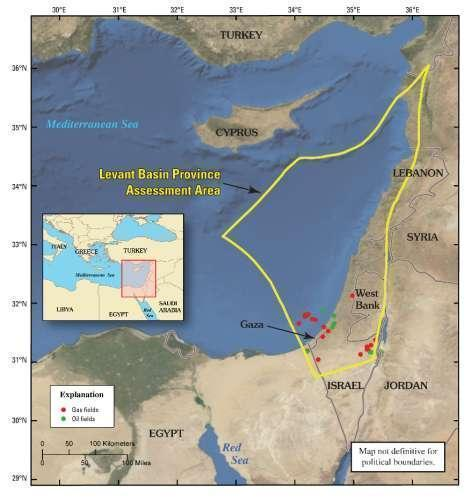 The Wars in the Middle East and North Africa Are NOT Just About Oil … They're Also About GAS levantprovince2